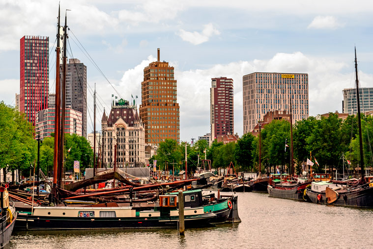 guided photography tour of Rotterdam